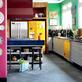 Uma cozinha para quem ama cores.