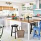 Uma cozinha bem praiana