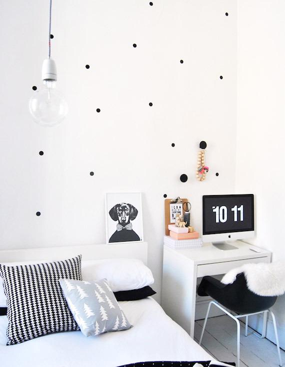 Minimalismo preto e branco na decora o encadre for Objetos decorativos minimalistas
