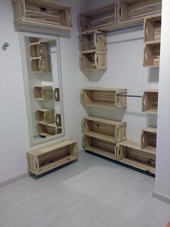 Closet c/caixotes- via HC