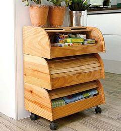Porta pão ou móvel auxiliar?