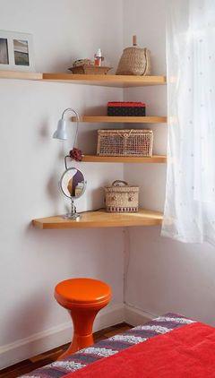 Perfeito para quartos pequenos!!!