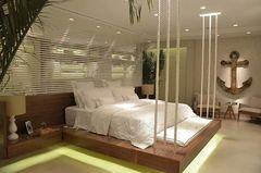 Dormitório com ancora