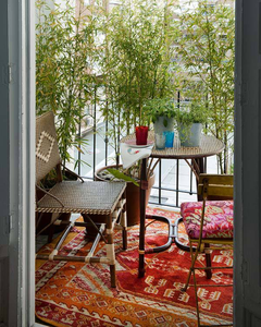 Uma excelente ideia para dar privacidade: usar plantas altas.