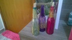 Garrafinhas de vidro lindas