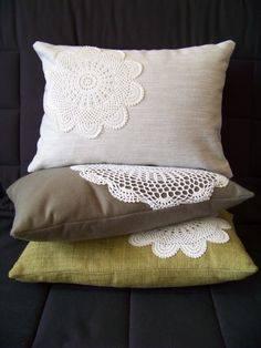 Mais almofadas de crochet