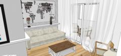 Sala de estar - Apto