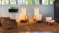 Tapete Persa Farahan A da by Kamy Eventos presente no Salão CasaModa Noivas 2016