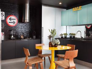 Cozinha moderna - escura