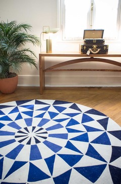 """Tapete Rotondo da by Kamy no projeto da Louis Vuitton - """"L'Excellence du Savoir Faire"""""""