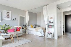 Apartmento estúdio e como dividi-lo