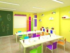 Sala de vídeo para educação infantil. #Colégio Parque Maravilha