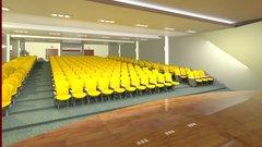 Novo auditório para o Colégio Fernandes e Menezes em São Paulo.
