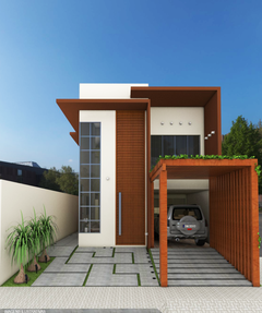 House front -